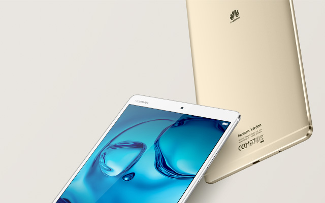 HUAWEI MediaPad M3 - Celebrating your senses.