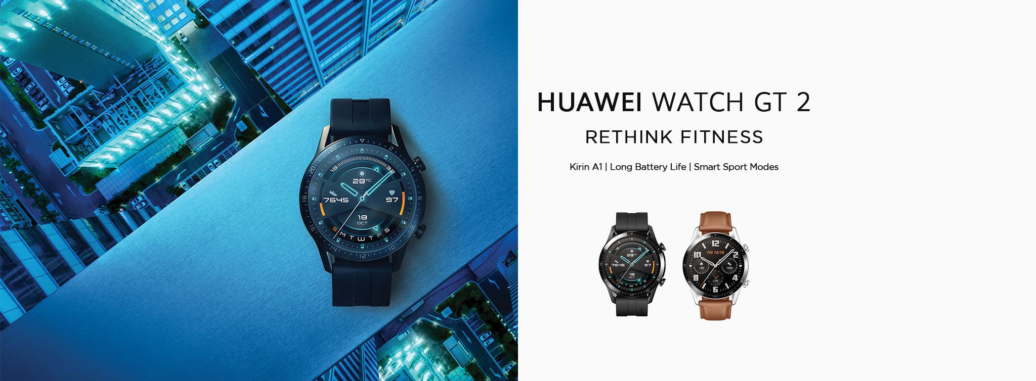 Huawei Watch Gt 2 Long Battery Life With Built In Gps Huawei Uk
