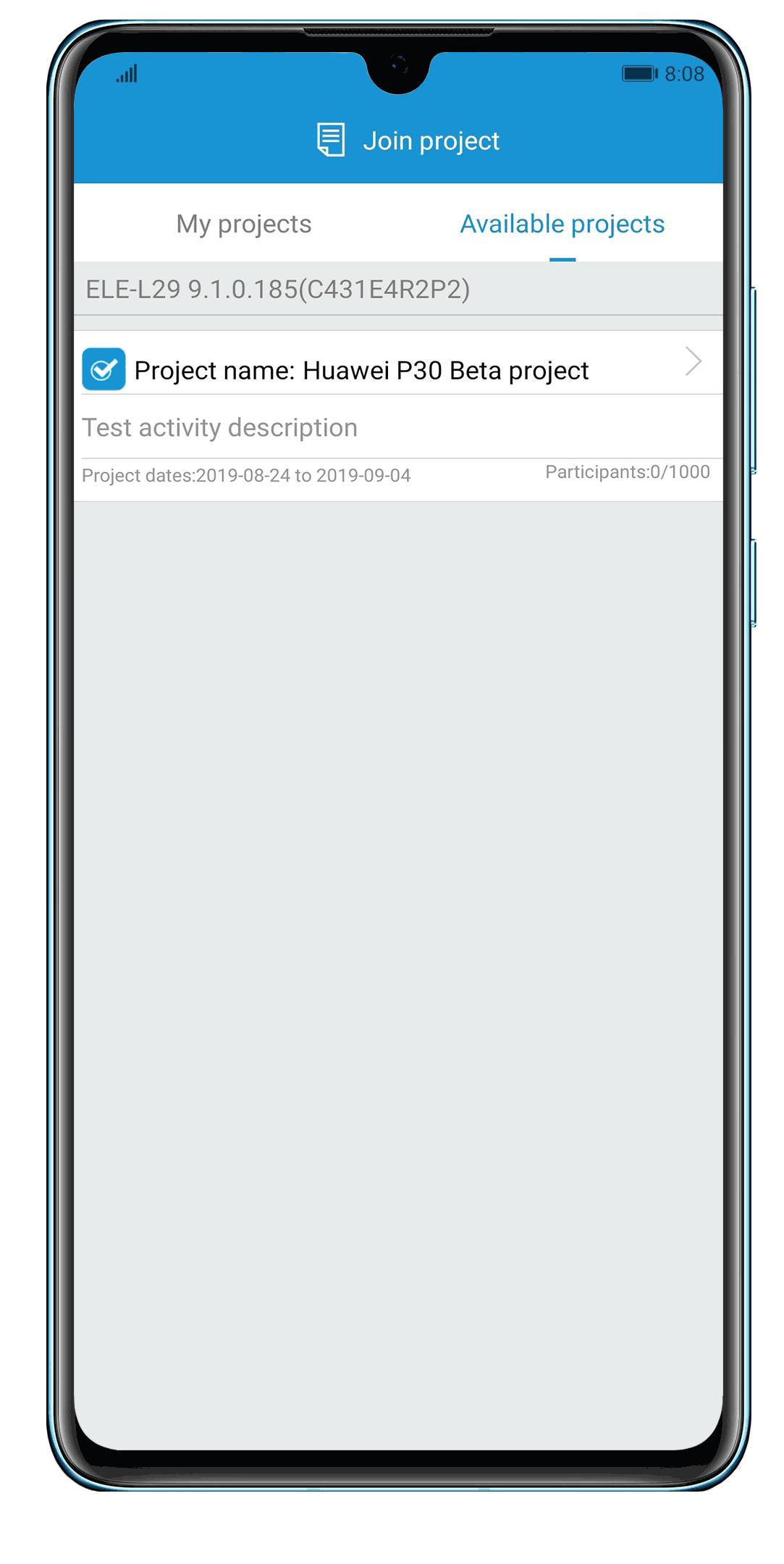 Friendly User Test