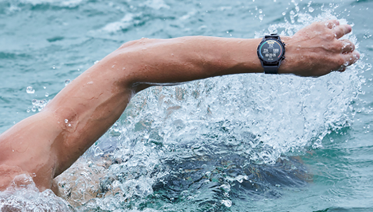 Swim with your watch