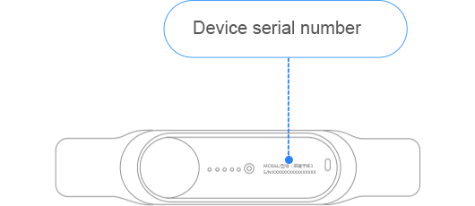 2 Check The Back Of Bluetooth Headset S N Is Serial Number Applicable For B2